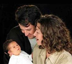 Amy Grant, husband Vince Gill, and new daughter Corrina Country Music Artists, Country Music Stars, Country Singers, Celebrity Wedding Rings, Celebrity Weddings, Dad Daughter, Daughters, Christian Music Artists, Amy Grant