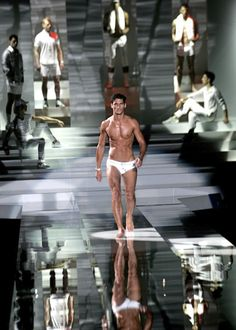 ***  David Gandy swim wear 2012 fashion style trend tips
