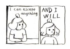 Comic by Anna Syvertsson Affirmations, Chaotic Neutral, The Last Airbender, Rogues, Art Inspo, Inspire Me, Just In Case, Illustration, Self
