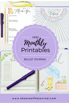 Brand new free printables every month!