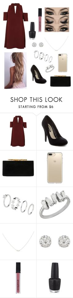 """""""👄"""" by zofapieretti on Polyvore featuring Topshop, Michael Antonio, Jimmy Choo, Speck, Accessorize, Smashbox y OPI"""