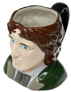 Doctor Who: Eighth Doctor Ceramic 3D Mug