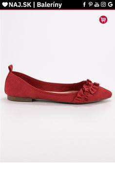 Semišové červené baleríny s volánom Corina Tommy Hilfiger, Platform, Adidas, Flats, Shoes, Fashion, Flat Shoes Outfit, Shoes Outlet, Fashion Styles