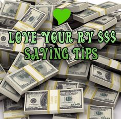 Being that we aren't yet famously wealthy and unable to work the six months we spend down south visiting the United States during the winter, we really have to watch our budget. In the last few years travelling full time in our RV we have figured out some ways to be frugal and save our money. http://www.loveyourrv.com/tips-for-saving-money-when-rving/ #RV #RVing #Tips