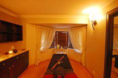 Chicama Spa, Glenburn Lodge - Spa Treatment Room  #atGuvon  #PamperedAtGuvon Spa Treatment Room, Spa Treatments, Home Decor, Decoration Home, Room Decor, Interior Decorating