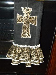 Leopard Dish Towel! Love it