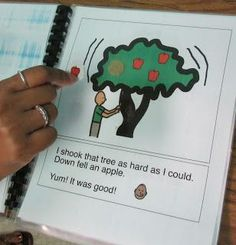 Way up High in the Apple Tree---printable book, free as usual.
