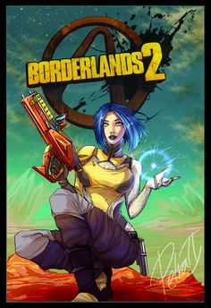 Borderlands Fan Art: Maya - Created by PetraDragoon