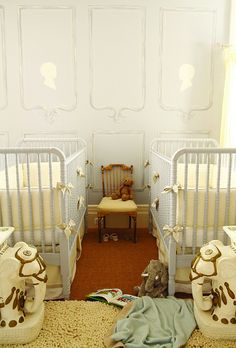 A chic take on neutral from our Nursery Style book.