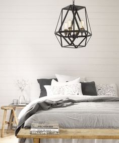 Vaille 4 Light Pendant in Oil Rubbed Bronze
