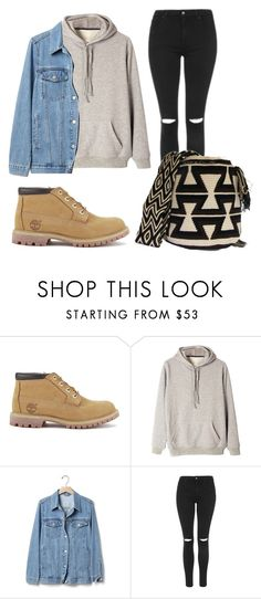 """""""28."""" by ninaetval on Polyvore featuring moda, Timberland, Gap y Topshop"""