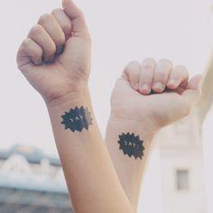 Jolie idée: tatouages de mariage