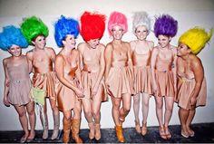 Trolls   Kostüm-Idee für Gruppen zu Karneval, Halloween & Fasching