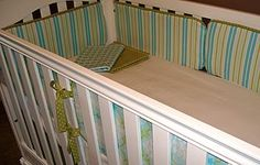 DIY Baby Bedding