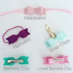 ABOUT ............ Gorgeous, Handmade, Glitter Fabric and 100% Wool Felt Hair Bows. This delicate set is perfect for children and adults alike. The bows are made using high quality, non shedding, glitter fabric. (EN71 tested) and 100% wool felt. Each bow measures approx. 6cm in length. You can choose from a selection of finishes. You can see an example of these in the pictures before making your selection. CUSTOM ............... I accept custom orders so please do send a message with ...