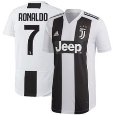 e681b23a57b FAN SHIRT Cristiano Ronaldo Juventus Home SOCCER 18 19 Jersey New