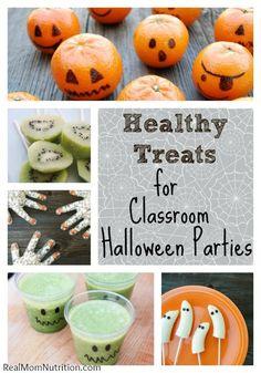 8 Healthy Treats for Classroom Halloween Parties