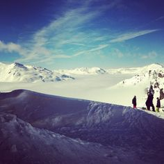 Amazing Panorama while skiing - Instagram weather photos just on Metwit !  http://metwit.com/weather/instagram/703/