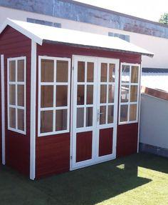 Gartenhaus Modell Canterbury - A-Z Gartenhaus-GmbH