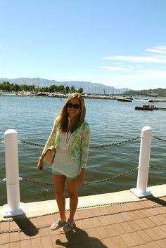 by Okanagan Lake in Kelowna, BC