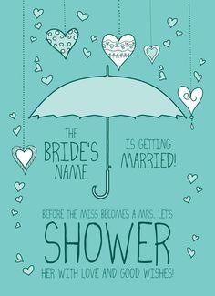 Bridal Shower Invites!