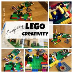 Homegrown Learners - Inspiring LEGO Creativity - LEGO Ideas Book Giveaway