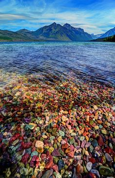 Lake Mcdonald Glacier National Park Located in Montana and bordering Canada, Glacier National Park has over 130 named lakes and hundreds of others, many... - Shirley Lintner - Google+