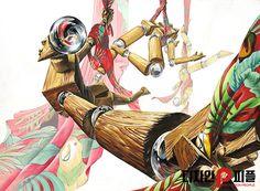 2016 국민대 발상과표현 제안작 - 피플미술학원  #기초디자인 #화면구성 #기디 #미대입시 #국민대발상 #국민대유형 #기초디자인 Sketch Painting, Pattern Illustration, Painting Patterns, Abstract Art, Princess Zelda, Draw, Fictional Characters, Boards, Illustrations