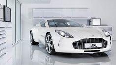 Aston Martin One 77 White