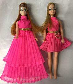 Vintage Topper Dawn Doll Dawn & Glori In Dawn Fashions