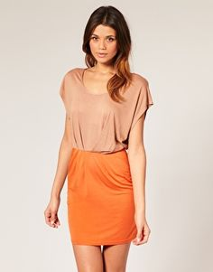 loving tan & orange combos against sun-kissed skin..this is on its way to me now! $22.41