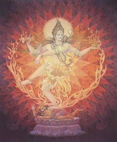 Nataraja Shiva Poster by Pieter Weltevrede Mahakal Shiva, Shiva Art, Hindu Art, Indian Gods, Indian Art, Tantra, Shiva Tattoo Design, Lord Vishnu Wallpapers, Lord Shiva Painting