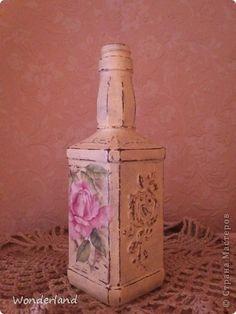 """бутылка """"старинная роза"""""""