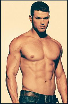 Kellan Lutz....too bad he's so out of shape!  Said no one ever ;)