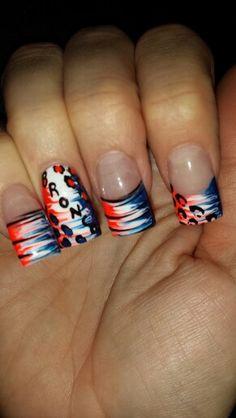 Broncos nails :-)
