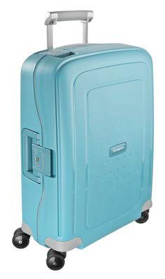 S'Cure Aqua Blue 69cm #Samsonite #SCure #Travel #Suitcase #Luggage #Strong #Lightweight #MySamsonite #ByYourSide