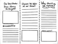 How to write a brochure ks2 technologies