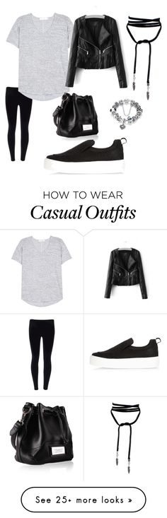 """Casual"" by judie-h-simpson on Polyvore featuring rag & bone and River Island"
