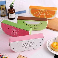 Look what I found on AliExpress Office Supply Organization, Classroom Organization, Cute Pencil Case, Aquaponics Plants, How To Treat Acne, Summer Fruit, Sunglasses Case, 3d Printing