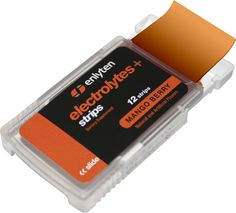 Enlyten Electrolytes+ Strips help aid in hydration. The Strips dissolve quickly into your body, by placing them inside your cheek you receive high levels of absorption in 2-3 minutes. www.enlyten.com