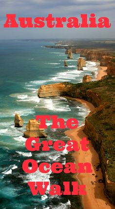 Hiking Australia's Great Ocean Walk - in guided luxury! Visit Australia, Australia Travel, Australia 2017, Adventure Bucket List, Adventure Travel, Best Travel Guides, Great Barrier Reef, Day Hike, Day Trips