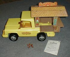 Sunshine Family craft truck = the ultimate hippy toy 1970's. OMG--I loved this.  Never have been able to find it again!