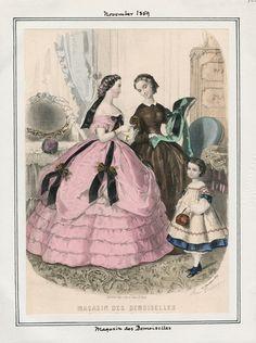 Magasin des Demoiselles November 1859 LAPL