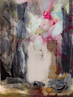 Janette Phillips; the newly discovered joys of black gesso
