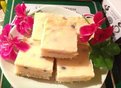 Passionfruit Slice Recipe The Sweetest Treat