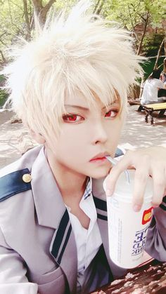 Bokuno Hero Academia || Katsuki Bakugou [ Cosplayer: Rimmio_cos ]
