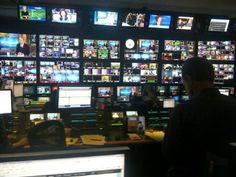 Control room 5 minutes before the debut of CBS This Morning Studio 57, Cbs News, New Image, Room, Bedroom, Rooms, Peace