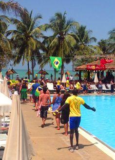 Journée Brésil au #ClubMarmara #Saly #Senegal #vacances #voyage