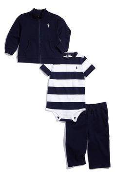 love navy stripes