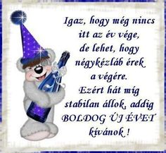 happy new year or years Holidays And Events, Happy New Year, Cute Cats, Smurfs, Thoughts, Christmas Ornaments, Holiday Decor, Birthday, Funny